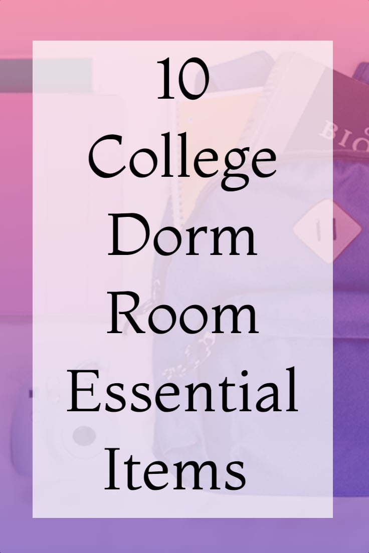 10 Essential College Items That You Need for Your Dorm Room