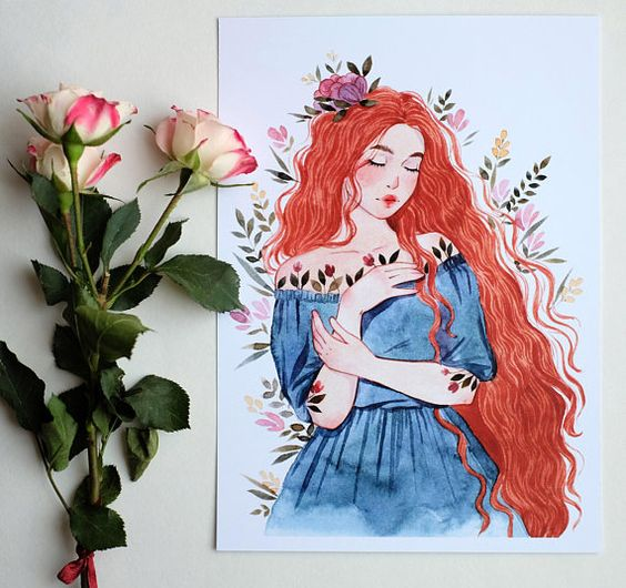 """Spring"" Art Print by Julia Korpushova"