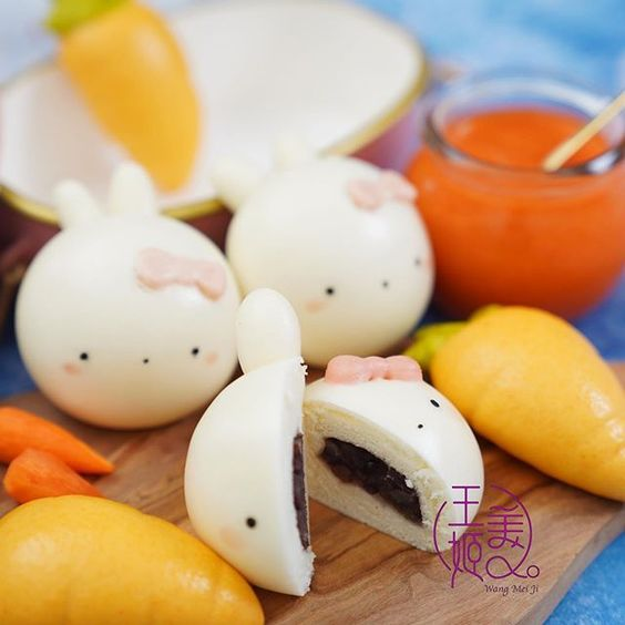 Cute Character Steamed Buns (Baozi and Mantou)