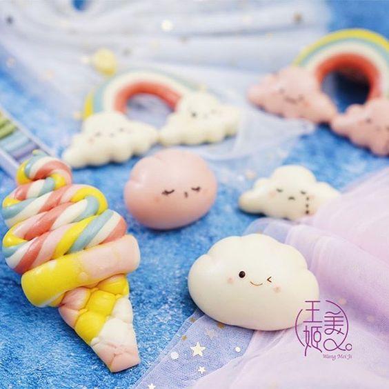 Fluffy mantou clouds by WangMeijiQoEat via Instagram