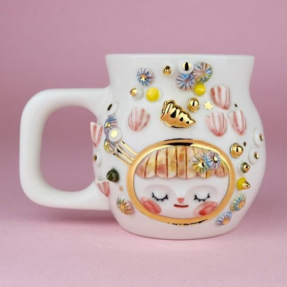Barnacle Bebe - Cute, encouraging Barnacle Baby mug, photo by Myostery, via Etsy